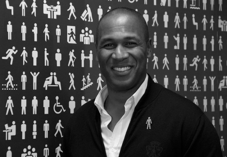 Les Ferdinand black and white