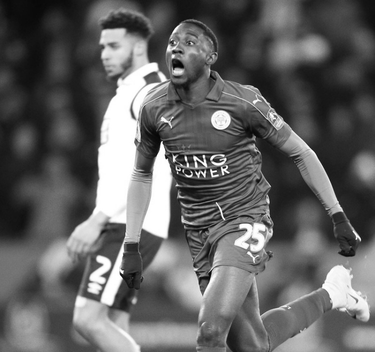 Ndidi black and white