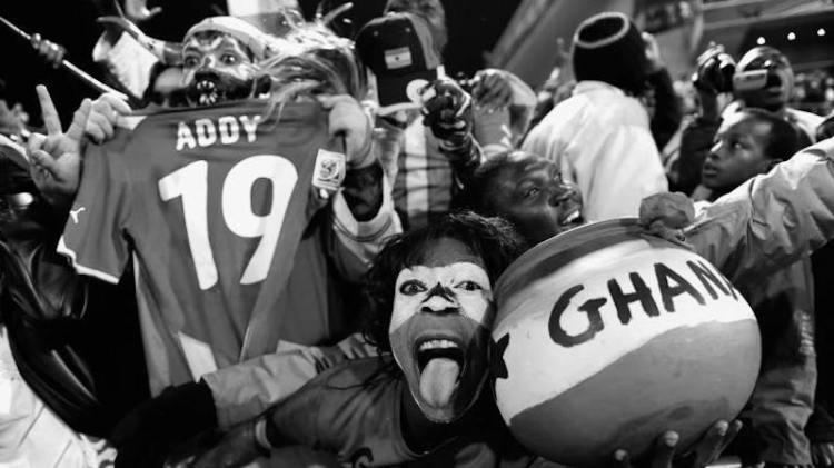 Ghana fans World Cup 2010